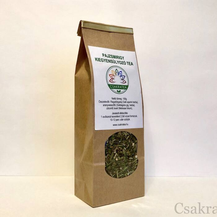 Pajzsmirigy kiegyensúlyozó tea, 100g